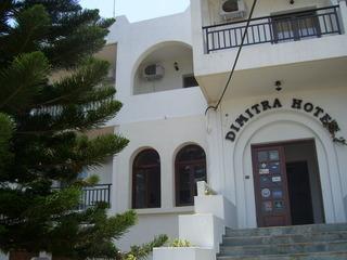 Hotel Dimitra Chersonissos Außenaufnahme