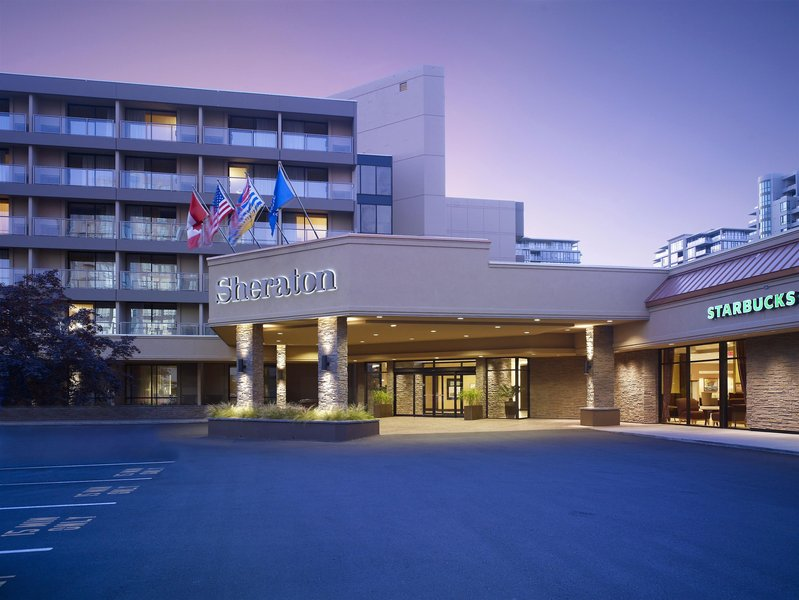 Sheraton Vancouver Airport Hotel Außenaufnahme