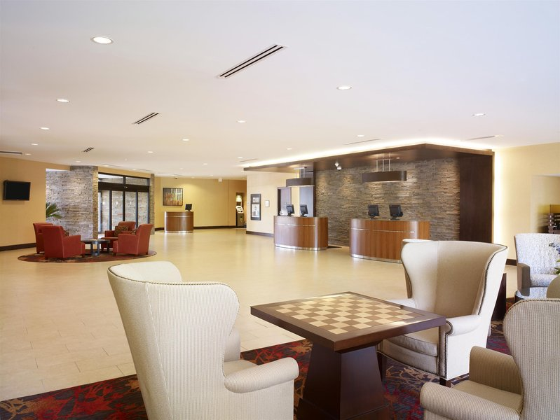 Sheraton Vancouver Airport Hotel Lounge/Empfang