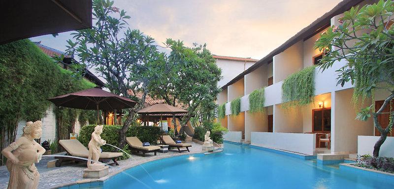Kuta Lagoon Resort and Pool Villas Pool