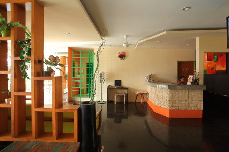Spazzio Bali Hotel Lounge/Empfang