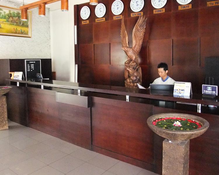 Kuta Lagoon Resort and Pool Villas Lounge/Empfang