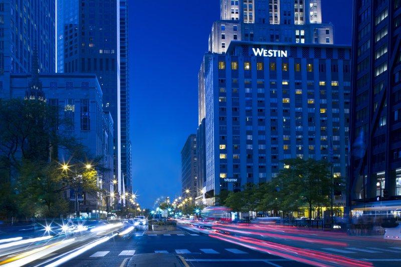 The Westin Michigan Avenue Chicago Außenaufnahme