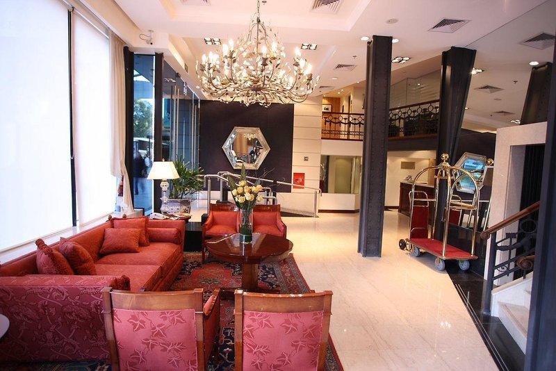 Park Silver Obelisco Hotel Lounge/Empfang