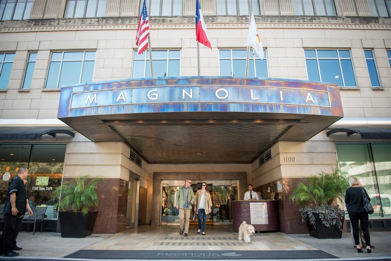 Magnolia Hotel Houston Außenaufnahme
