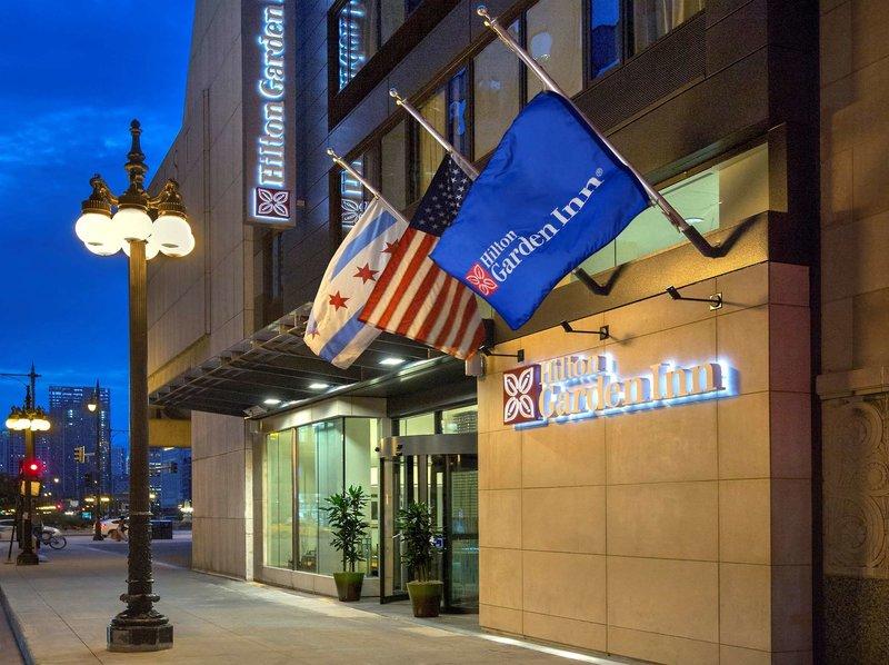 Hilton Garden Inn Chicago/North Loop Außenaufnahme