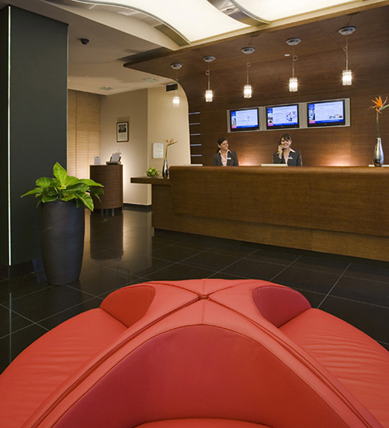 Novotel Budapest Danube Lounge/Empfang