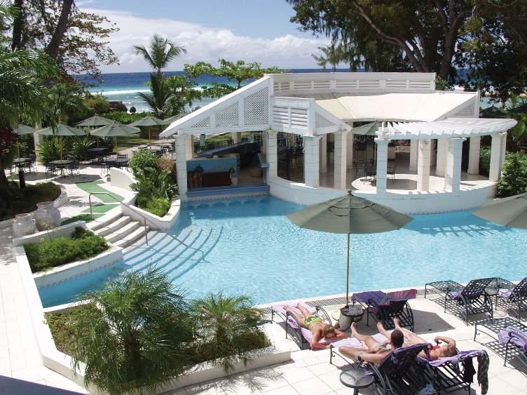 Savannah Beach Hotel Pool