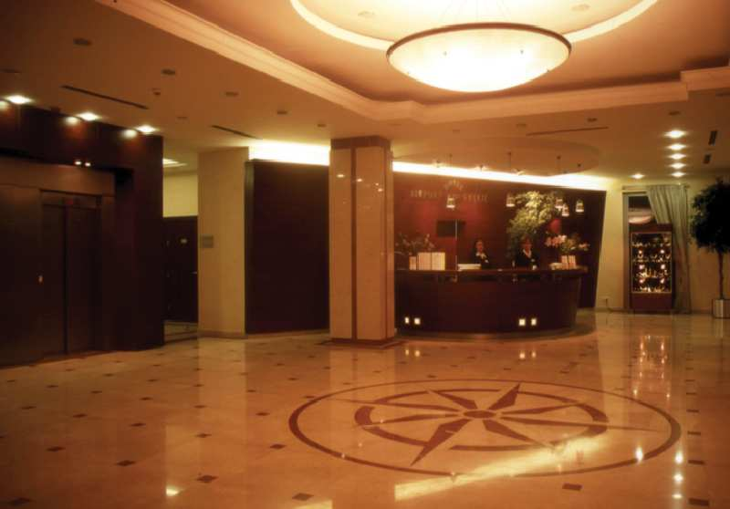 Airport Hotel Okecie Lounge/Empfang