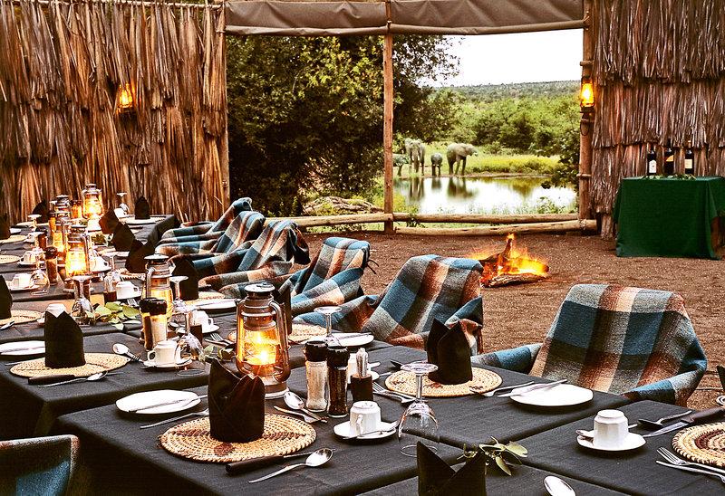 Mashatu Game Reserve Restaurant