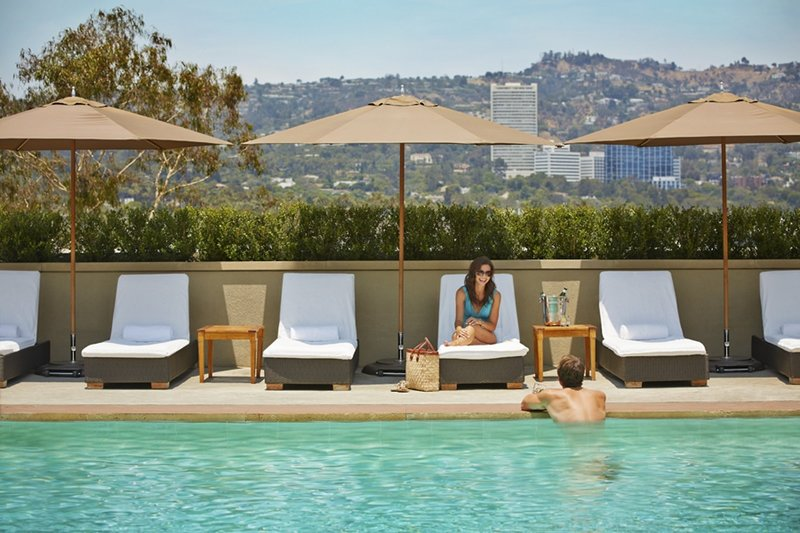 Viceroy L´Ermitage Beverly Hills Pool