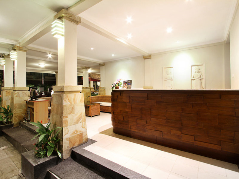 The Niche Bali Lounge/Empfang