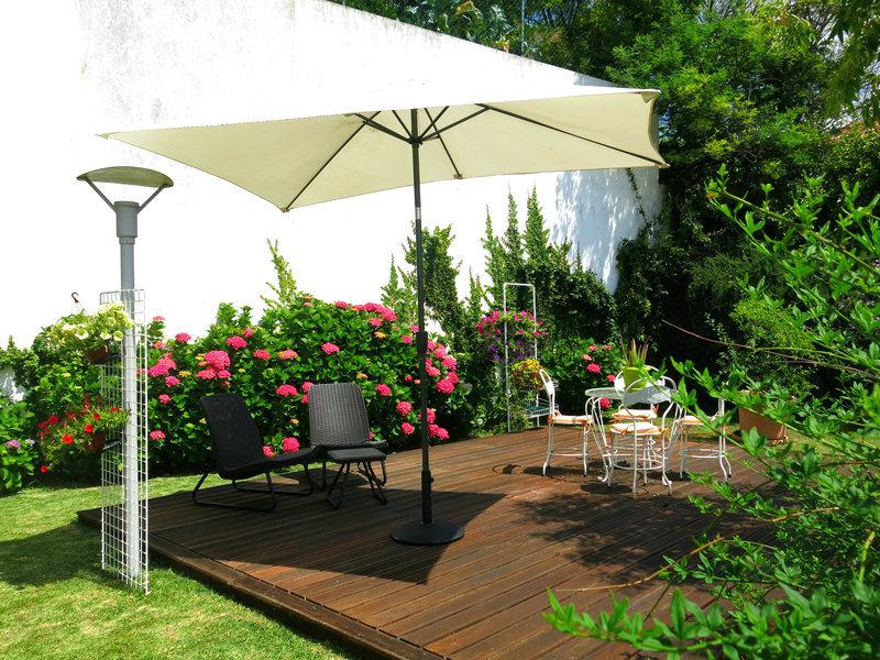 Casa Do Outeiro Garten