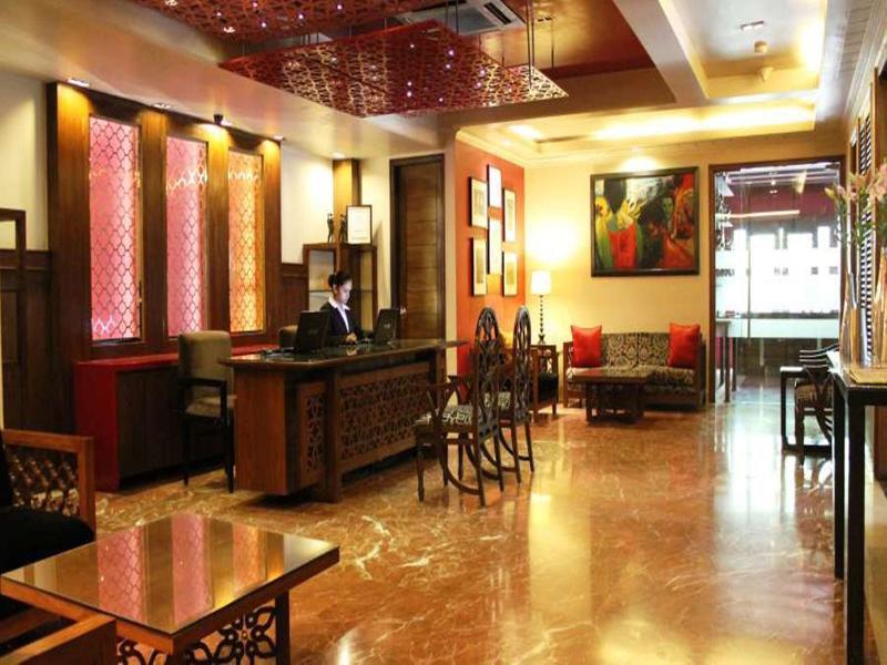 jüSTa The Residence at Panchsheel Park Lounge/Empfang