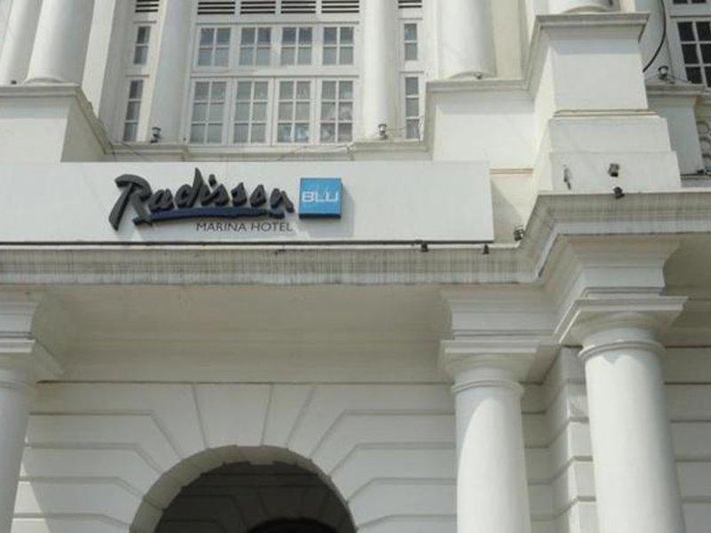 Radisson Blu Marina Außenaufnahme