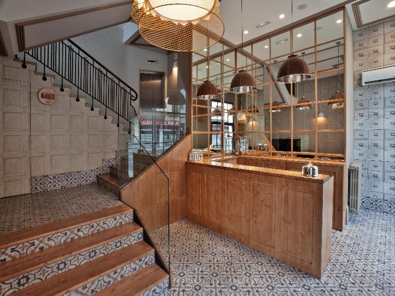 Hotel Avenida Lounge/Empfang