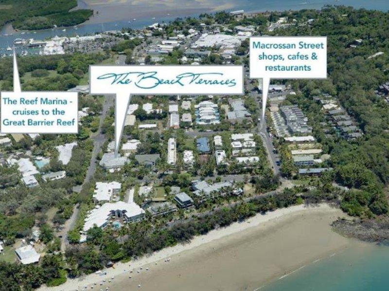 Beach Terraces- Port Douglas Luftaufnahme