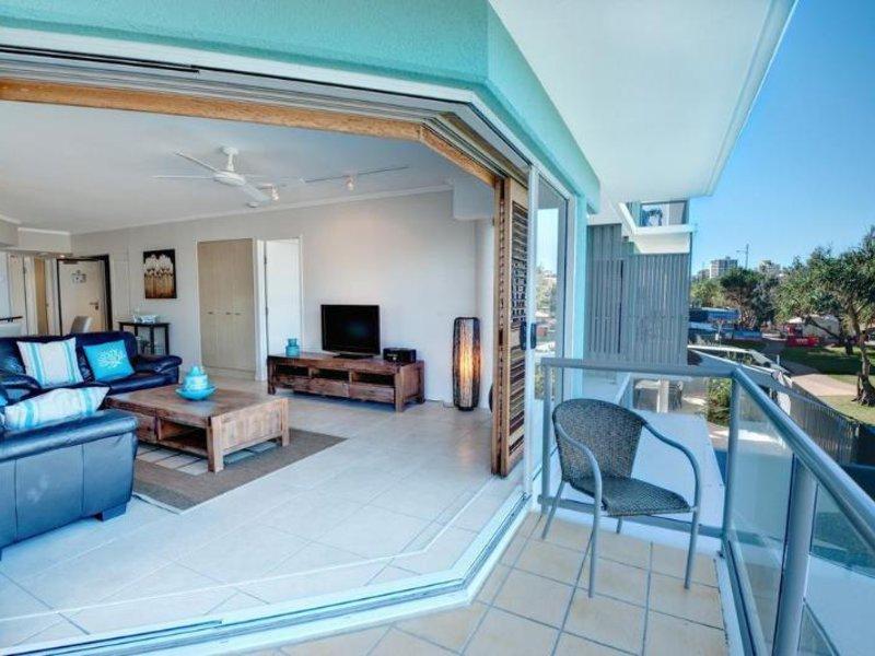 Rolling Surf Resort Terrasse