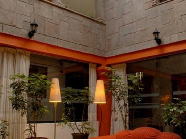 Amerinka Boutique Hotel Lounge/Empfang