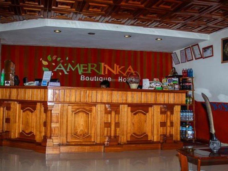 Amerinka Boutique Hotel Bar