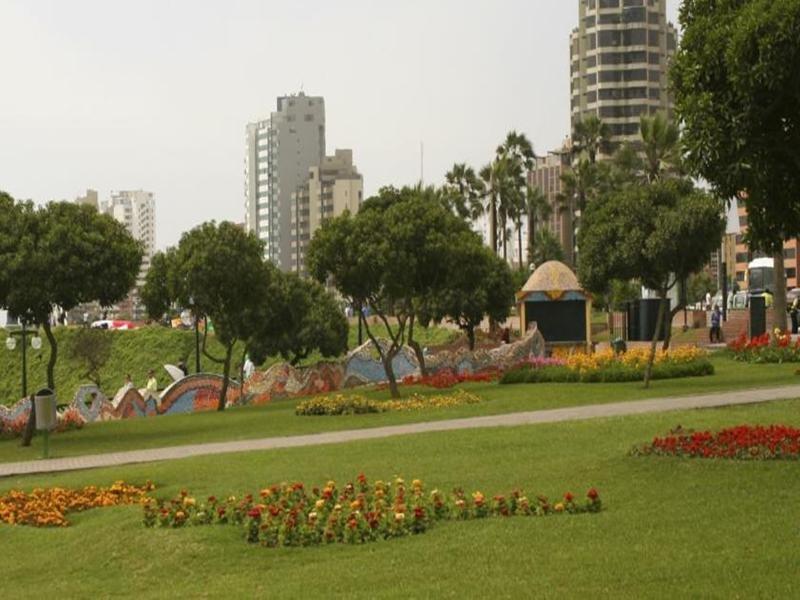 Courtyard Lima Miraflores Garten
