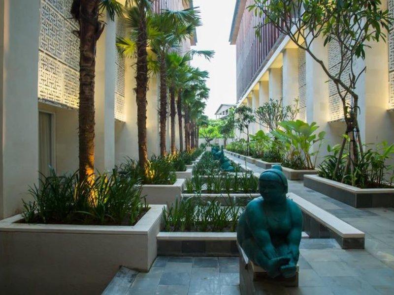 Bali Paragon Resort Hotel Garten