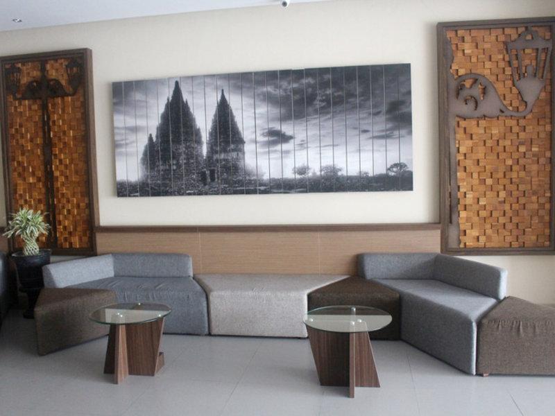 H Boutique Hotel Jogjakarta Lounge/Empfang