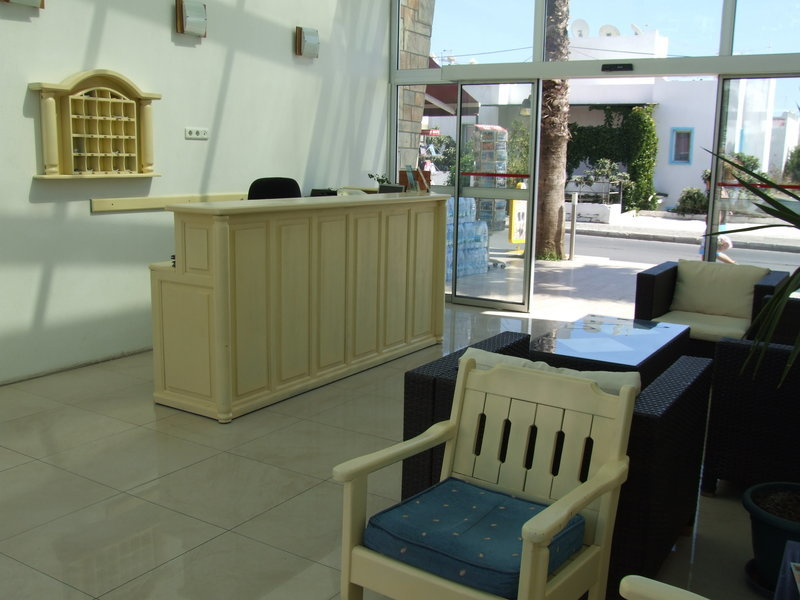 Paradise Apart Hotel Lounge/Empfang