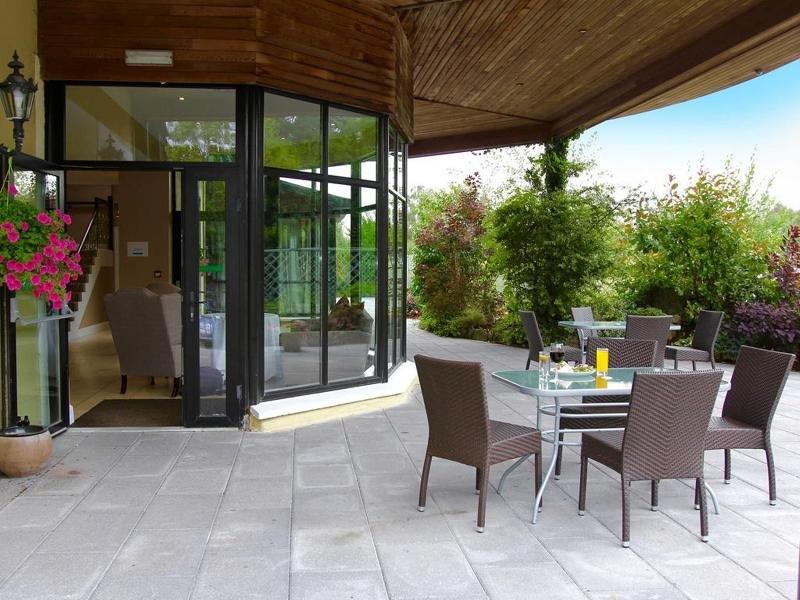 Abbeyleix Manor Terrasse