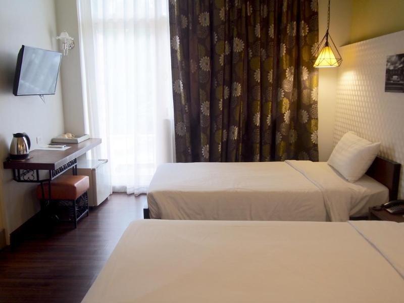 RetrOasis Hotel Wohnbeispiel