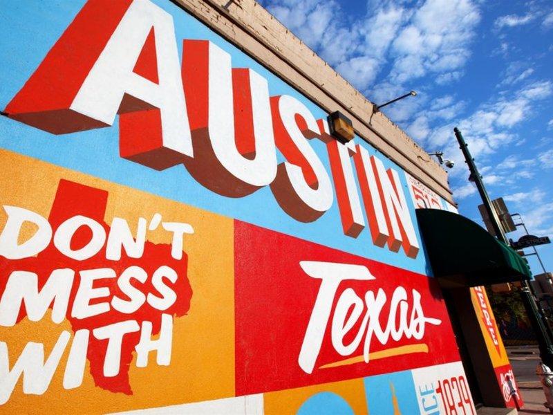 The Westin Austin Downtown Landkarte