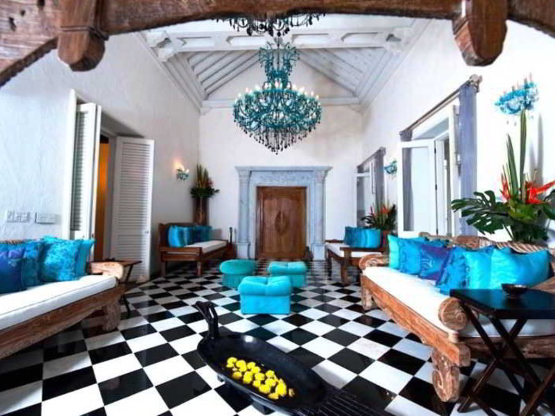 Aguamarina Hotel Boutique Lounge/Empfang