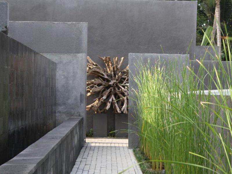 Aria Villas Ubud Garten