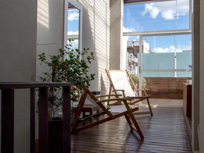 Infinito Hotel Eco Design Terrasse