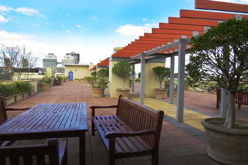 Waldorf Sydney Central Serviced Apartments Terrasse