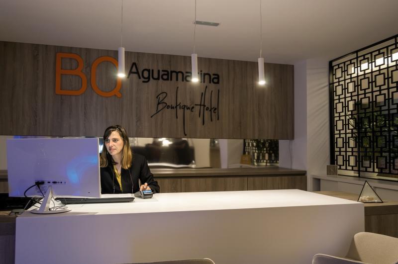 BQ Aguamarina BoutiqueLounge/Empfang