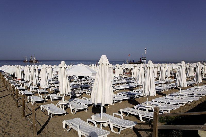 Larissa Beach Club Strand