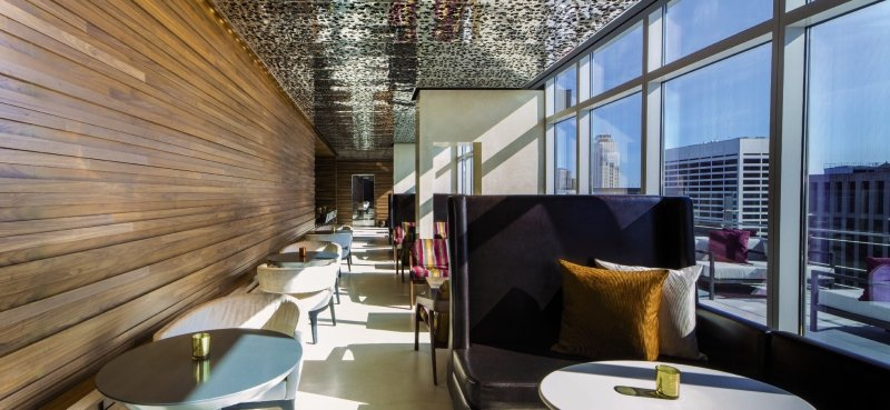 Fifty Hotel & Suites by Affinia Hotel Lounge/Empfang