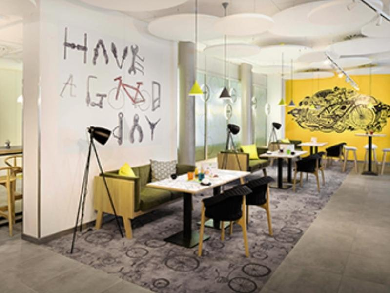 ibis Styles Budapest City Lounge/Empfang