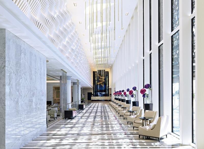 Four Seasons Hotel Abu Dhabi at Al Maryah Island Lounge/Empfang