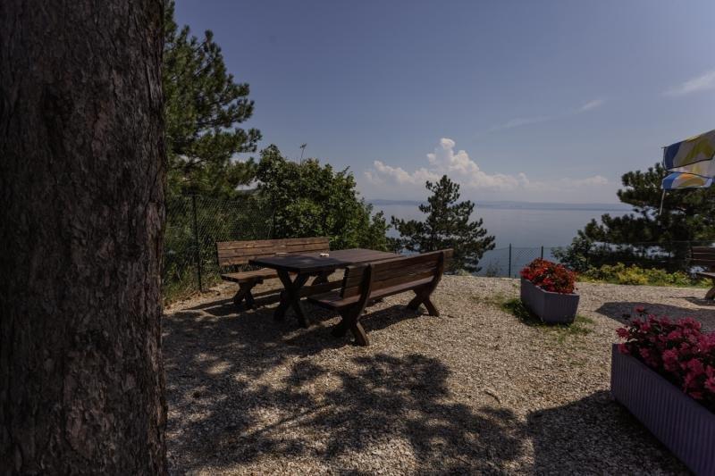 Camping Village Mare Pineta Baia Sistiana Garten