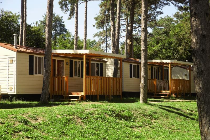 Camping Village Mare Pineta Baia Sistiana Außenaufnahme