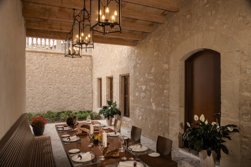 Castell Son Claret Restaurant