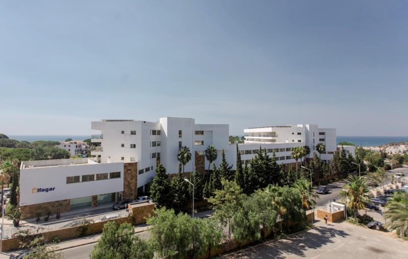 Alfagar II Aparthotel Außenaufnahme