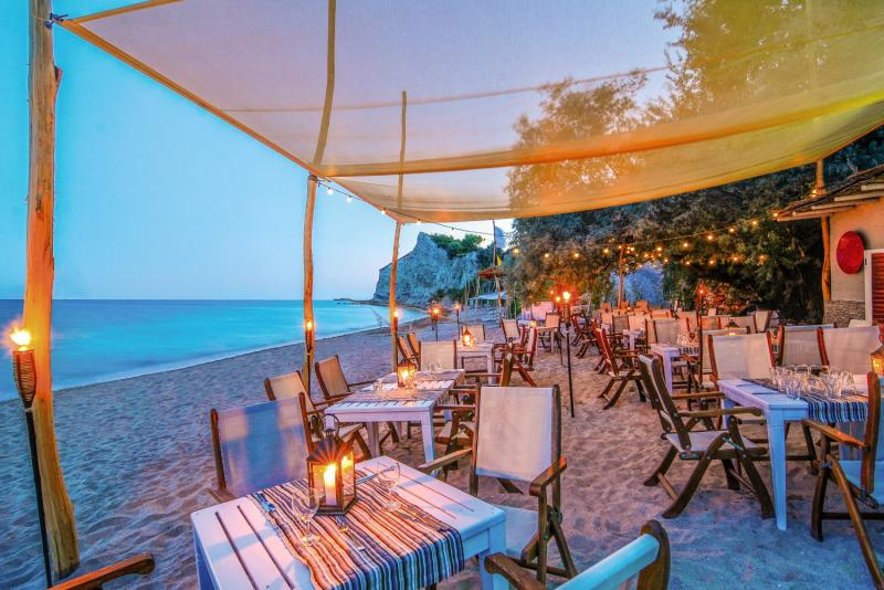 Thracian Cliffs Golf & Beach Resort Terrasse