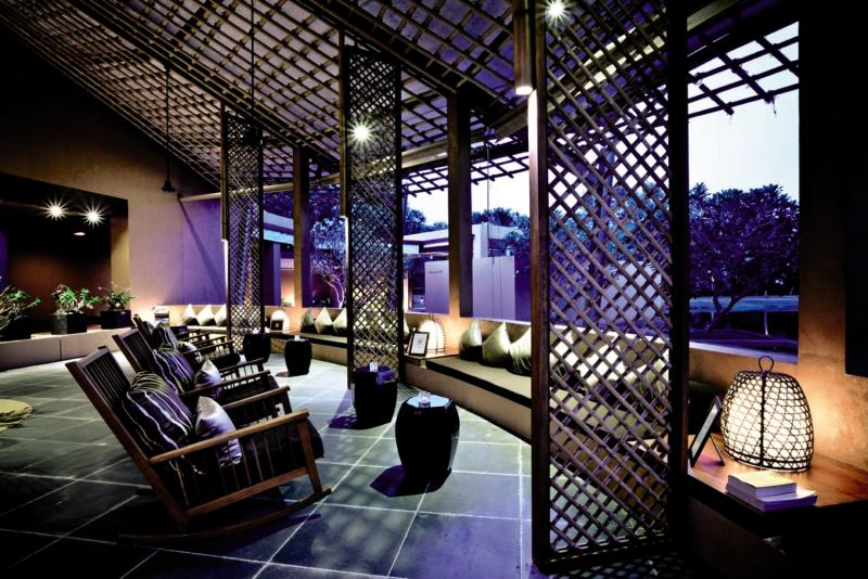 Wanakarn Beach Resort & Spa Lounge/Empfang