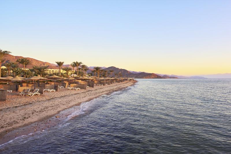 Mosaique Beach Resort Taba Heights  Strand