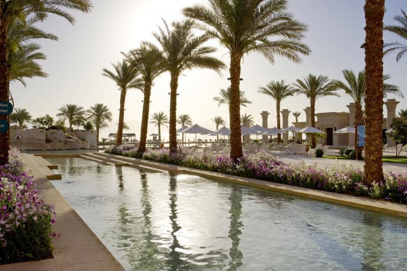 Mosaique Beach Resort Taba Heights  Garten