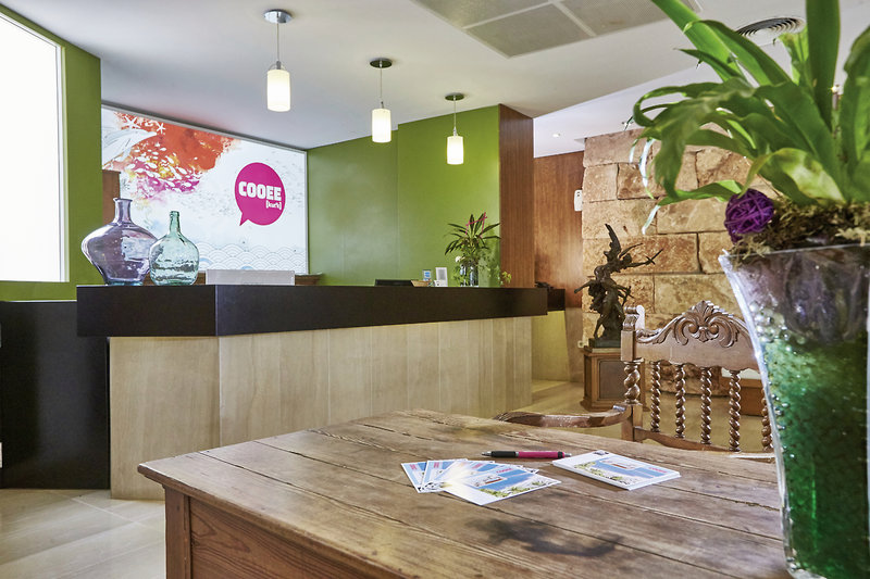 COOEE Aparthotel Cap de Mar Lounge/Empfang