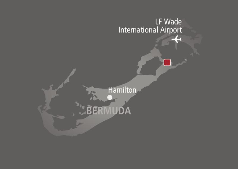 Rosewood Bermuda  Landkarte
